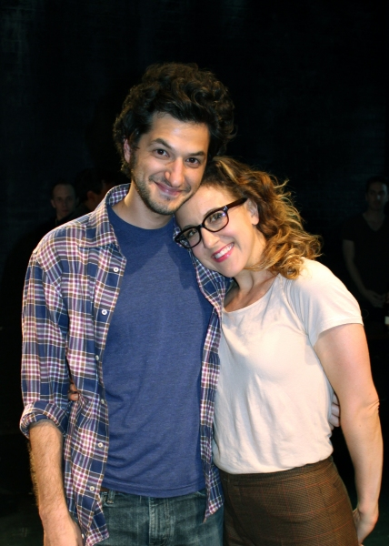 BEN SCHWARTZ and JENN HARRIS Photo